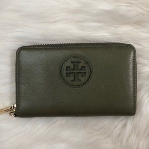 Tory Burch Olive Wallet
